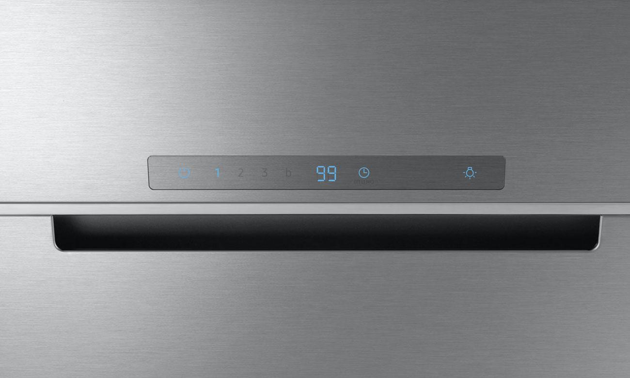Łatwe i intuicyjne sterowanie urządzeniem, dzięki rozwiązaniu Touch Control w okapie Samsung NK24M7070VS
