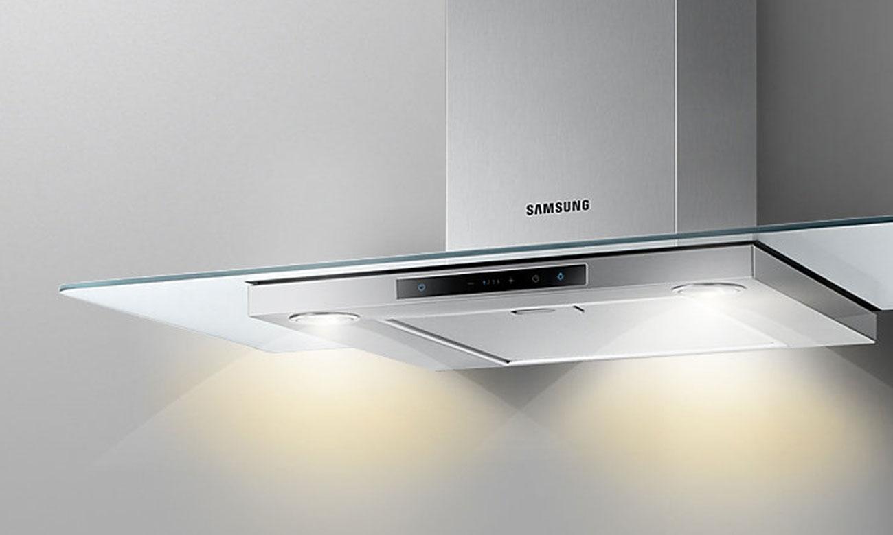 Oświetlenie LED w okapie Samsung NK36M5060SS