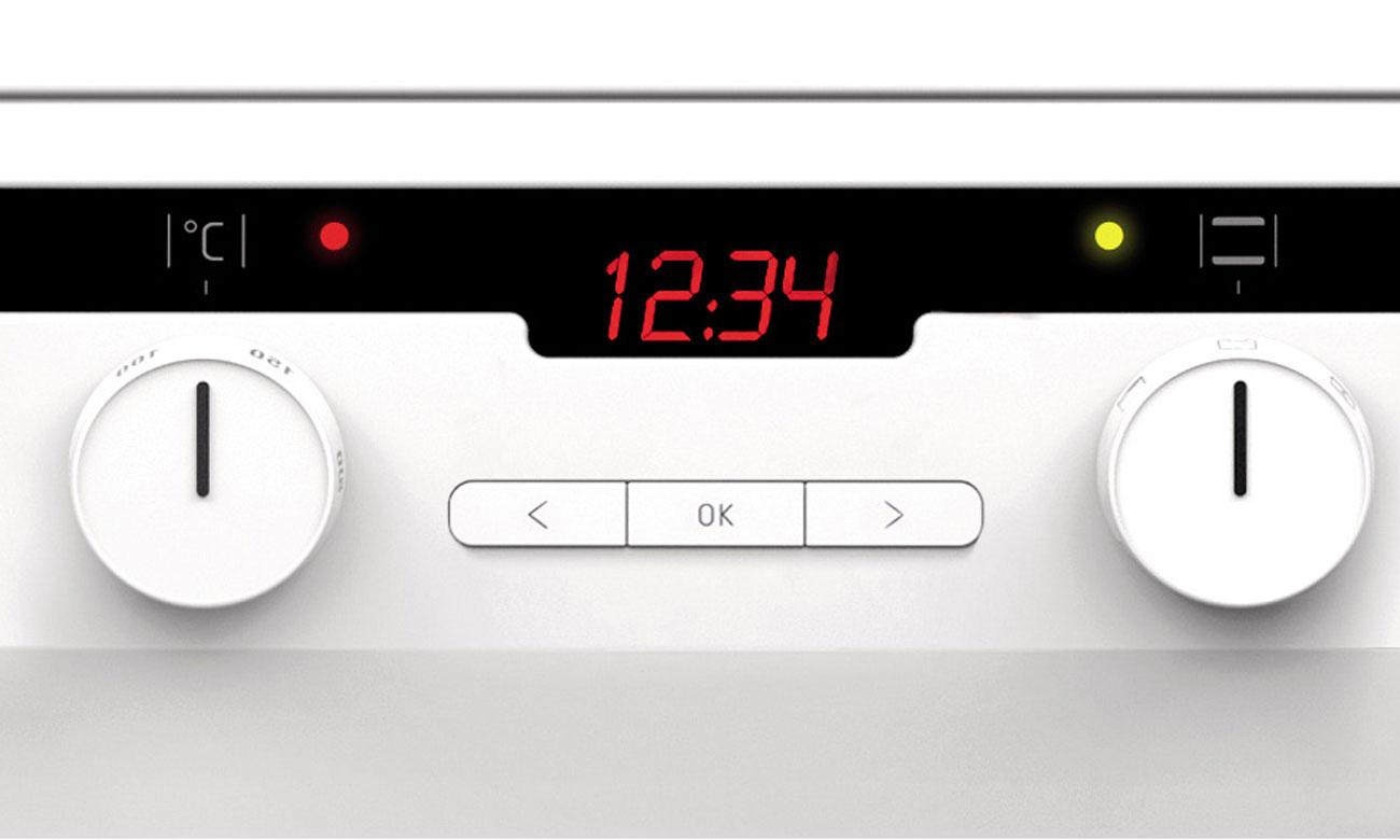 Amica 58IES3 320HTADQ(W) biała indukcyjna 50cm  Kuchnie  Sklep internetowy   -> Kuchnia Gazowa Amica Regulacja Plomienia