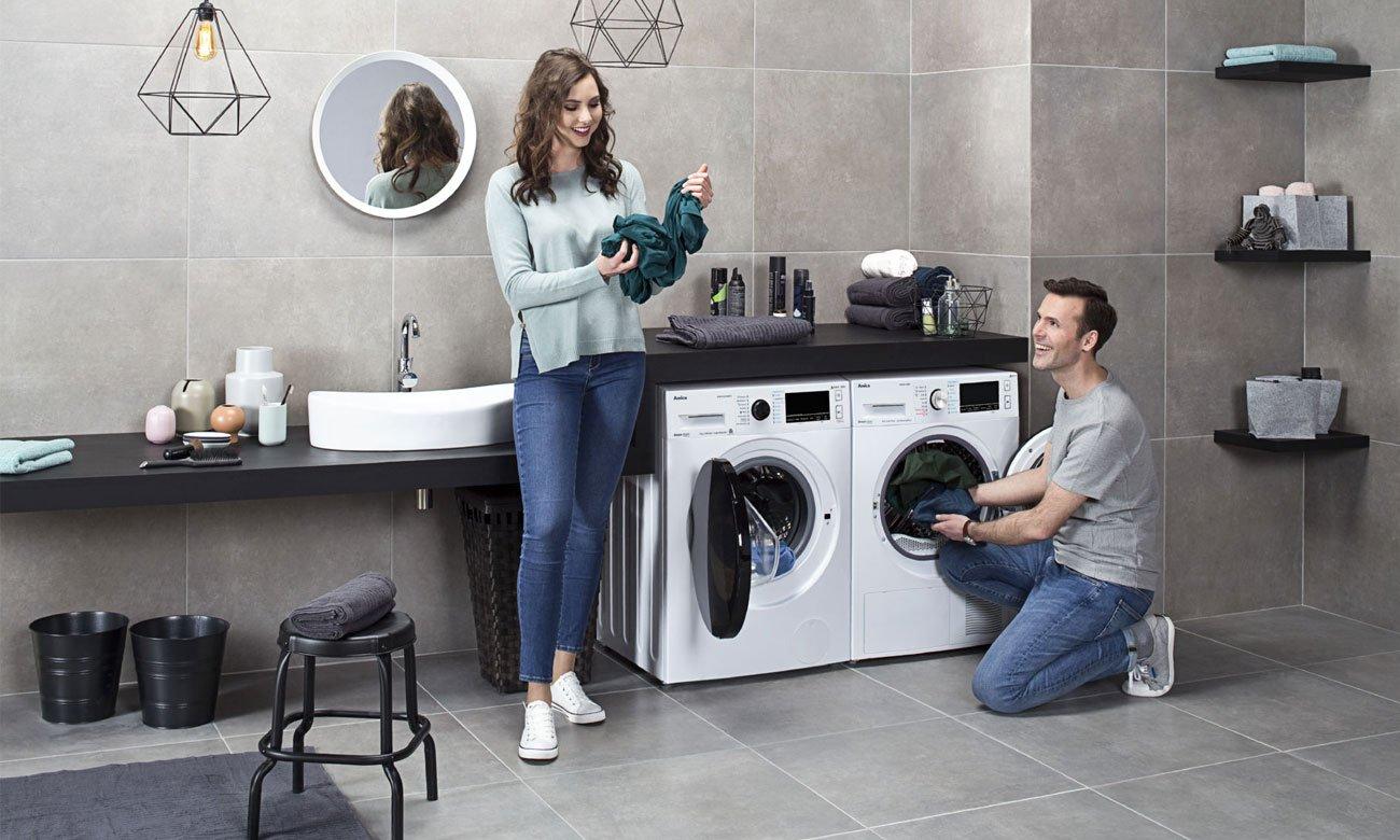 Łatwe do prasowania ubrania, dzięki systemowi Steam Touch w pralce Amica DAW8143DSiBTO