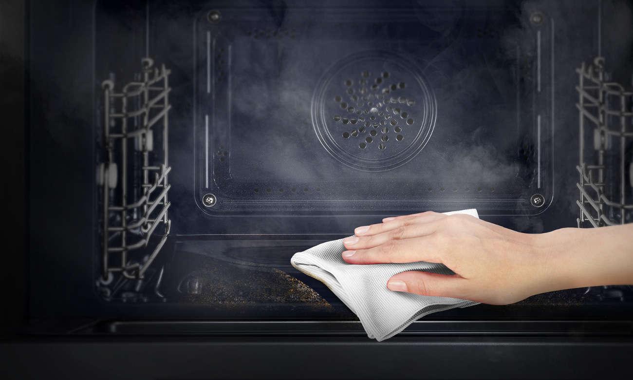 emalia łatwoczyszcząca w piekarniku Amica Fusion EB7541W