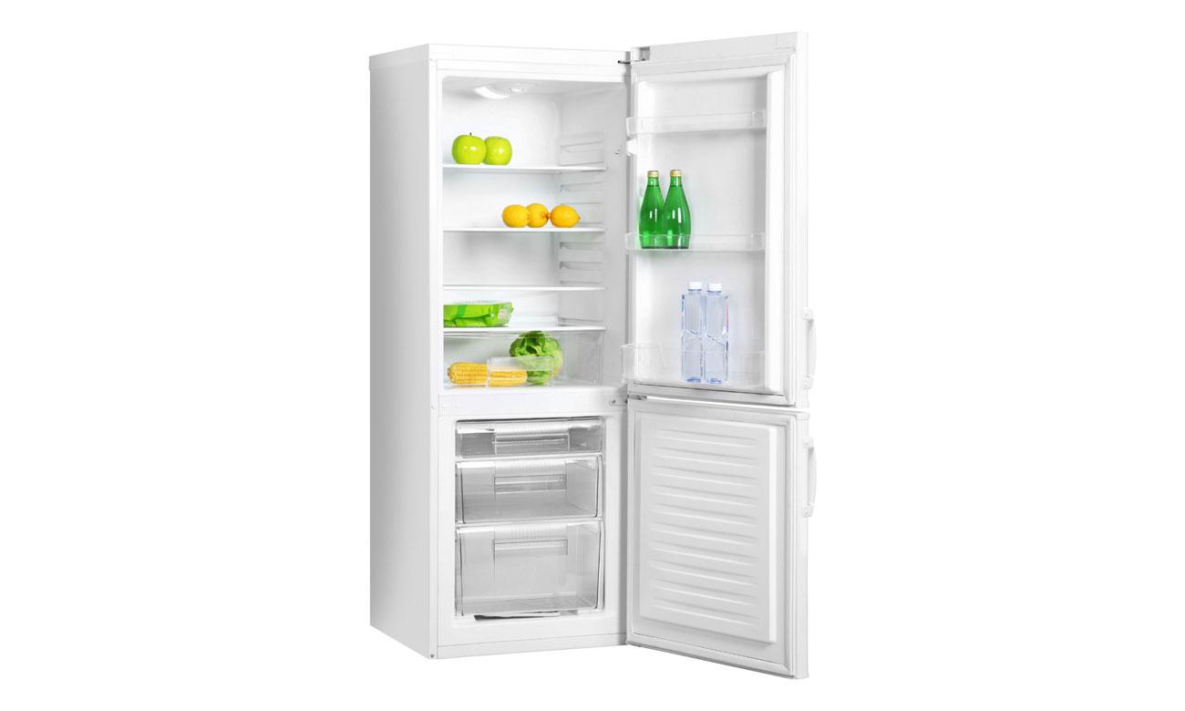 Obustronny montaż drzwi w lodówce Amica FK239.3
