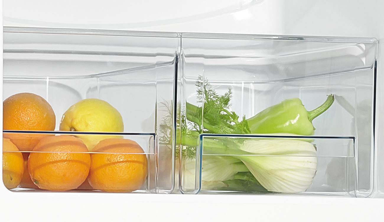 szuflada na warzywa w lodówce Amica FK328.3AA