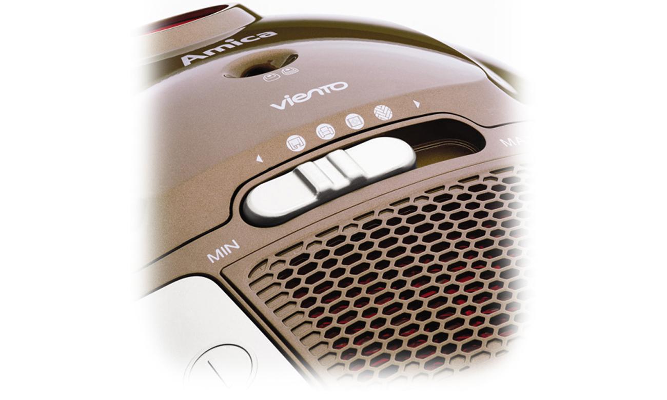Amica Viento VI2021 1500 W to innowacyjny odkurzacz z niezwykle pojemnym workiem 3L