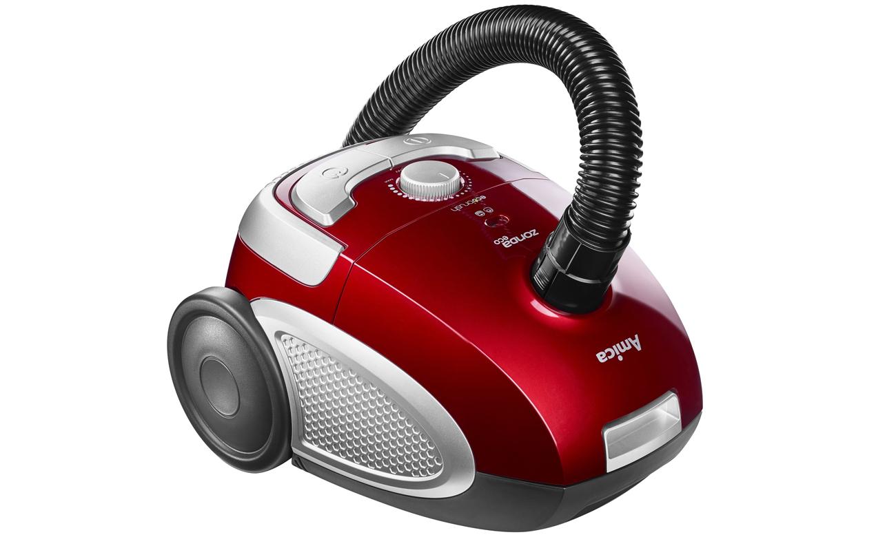 Odkurzacz Amica VP 1061 Zonda Eco 1600W czerwony workowy