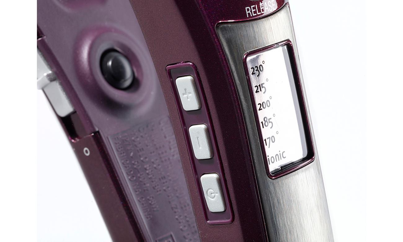 Prostownica do włosów Babyliss I Pro 230 ST395E szybko się nagrzewa