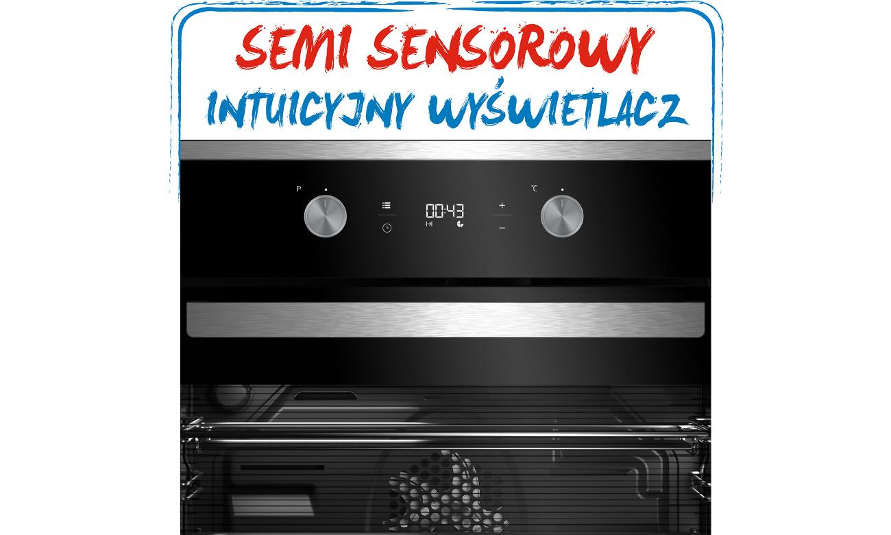 intuicyjny wyświetlacz w Beko BIM25302X