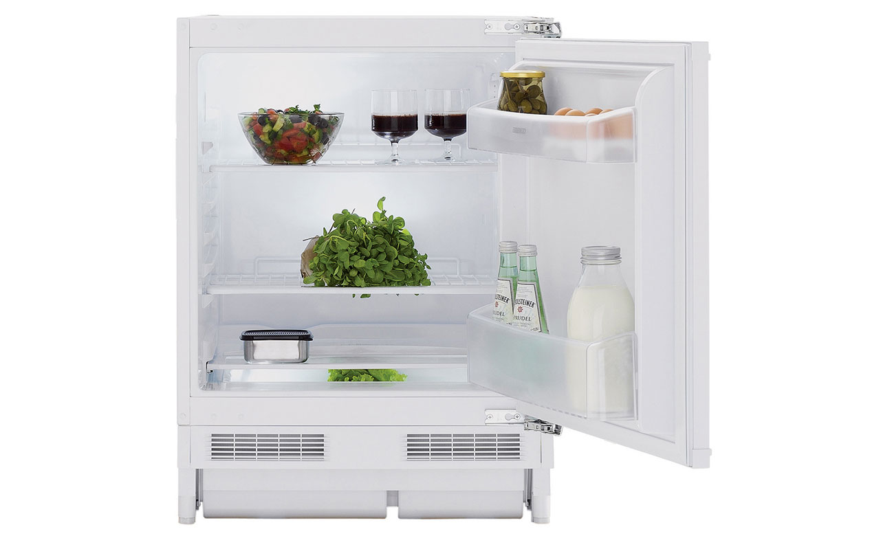 Świeże warzywa i owoce, dzięki antybakteryjnej uszczelce w lodówce Beko RSSA290M21W