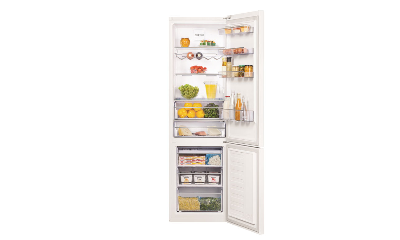 Alarm otwartych drzwi w lodówce Beko CNA400EC0ZW