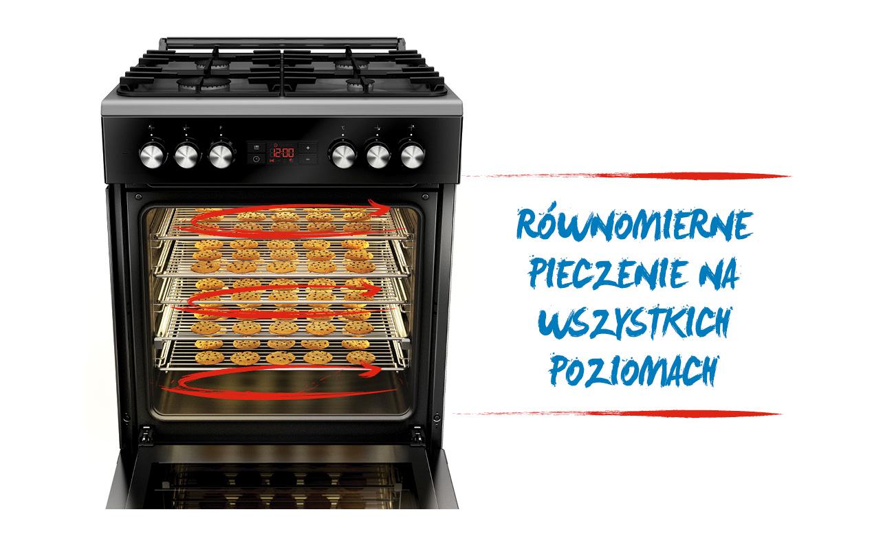 Beko Cse 52320 Dx Kuchnie Gazowo Elektryczne Sklep