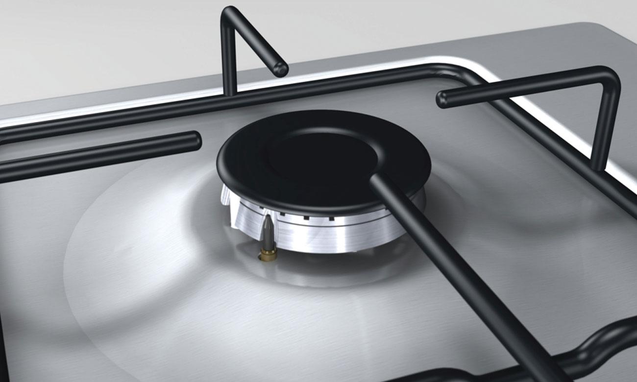 Zabezpieczenie przeciwwypływowe gazu w kuchence Beko CSM52322DX
