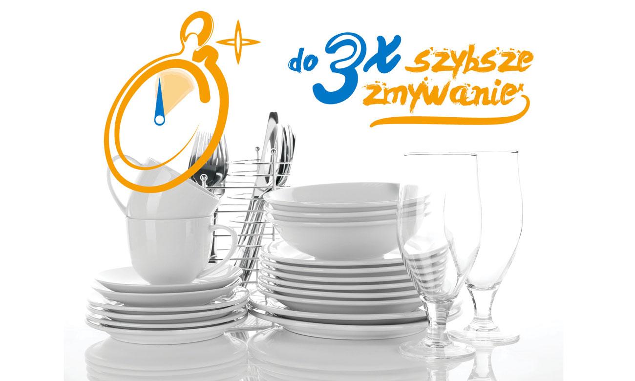 Szybki program zmywania w zmywarce Beko DFN26422X