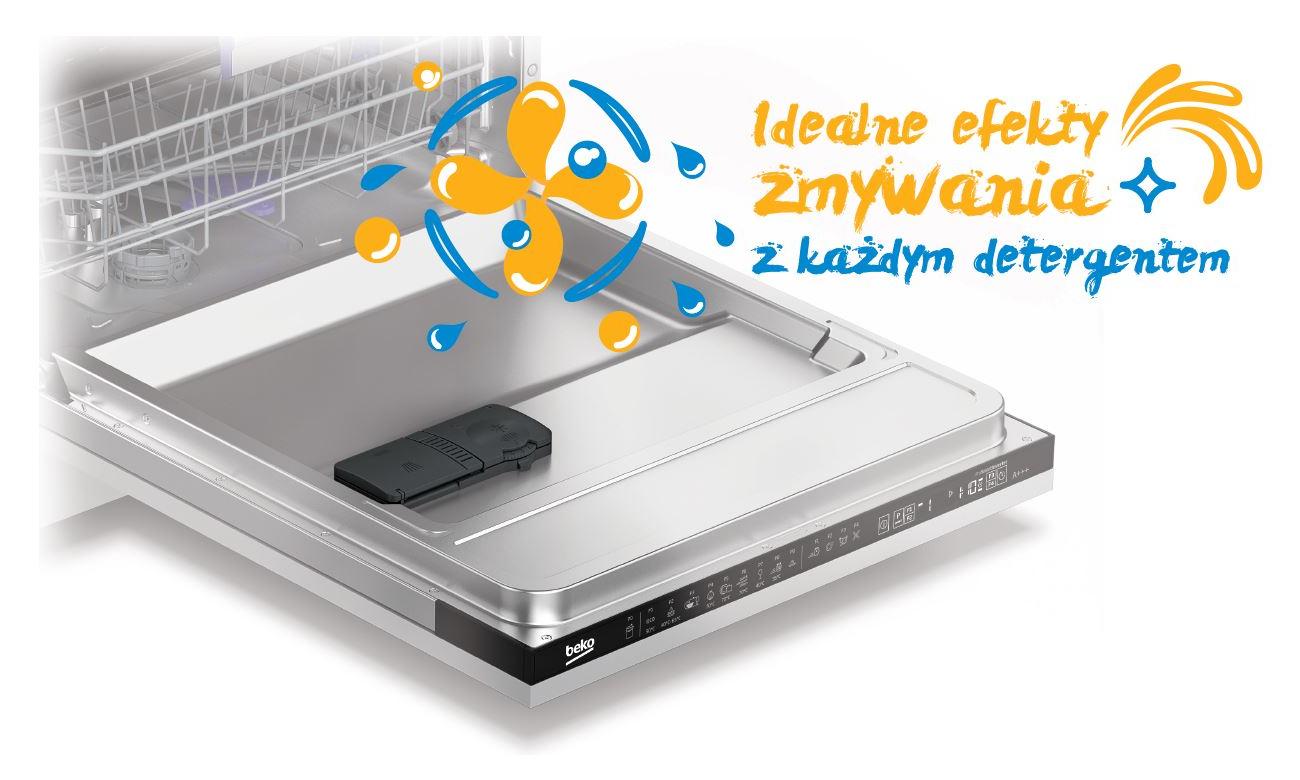 Zmywarka Beko DIN28330 z automatycznym programem Allin1