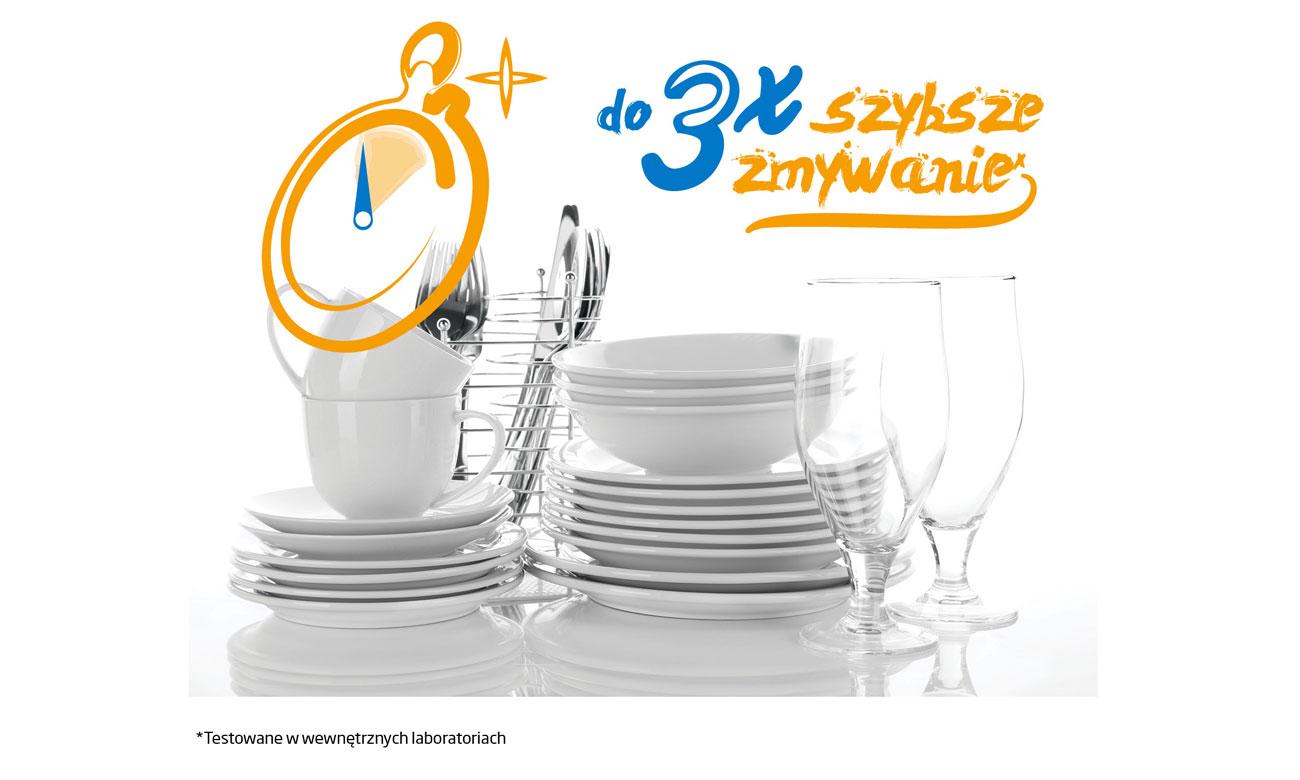 Szybkie zmywanie, dzięki programowi Fast+ w zmywarce Beko DIN28425