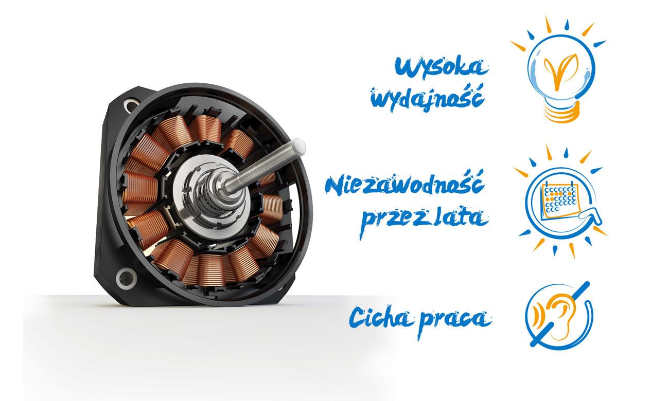 Silnik inwerterowy w zmywarce Beko DIN28425