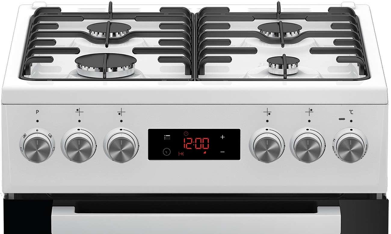 wyświetlacz w kuchence Beko FSE52320DWD