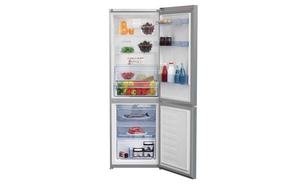 Alarm otwartych drzwi w lodówce Beko RCNA365K20ZX