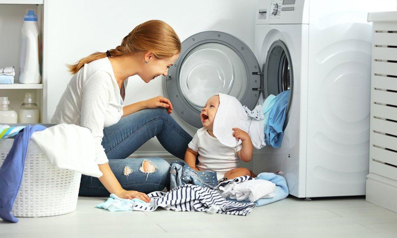 Zabezpieczenie przed dziećmi w pralce Beko SWRE6511BWW2