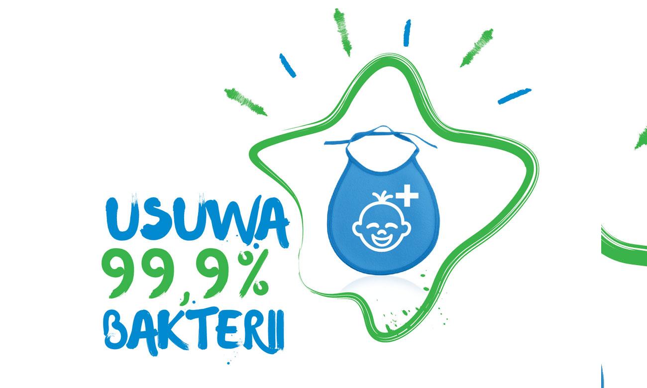 Doskonałe warunki prania warunki prania ubranek niemowlęcych, dzięki programowi BabyProtect w pralce Beko WRE6612BWW