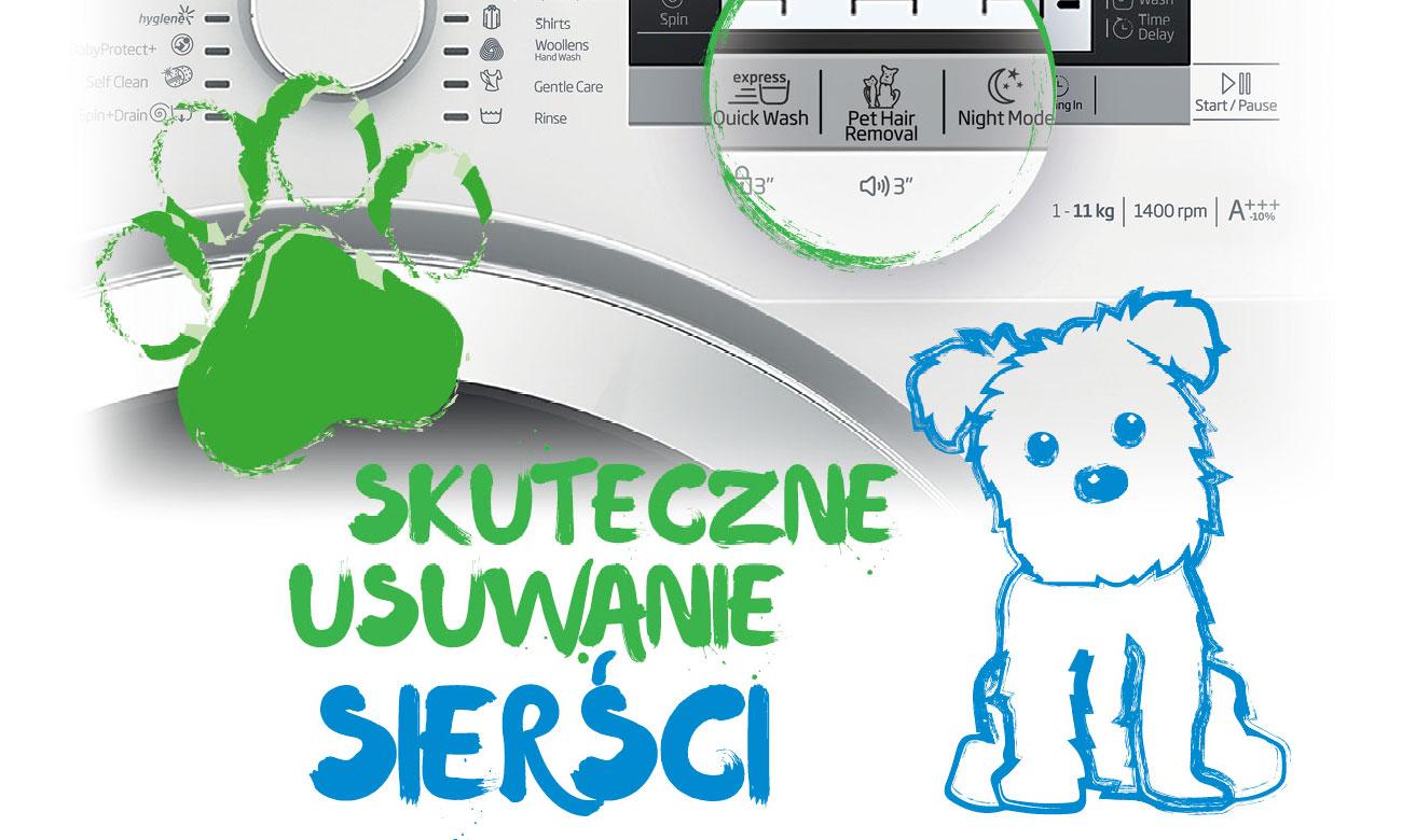 Funkcja Pupil w w pralce Beko WRE7612XWW