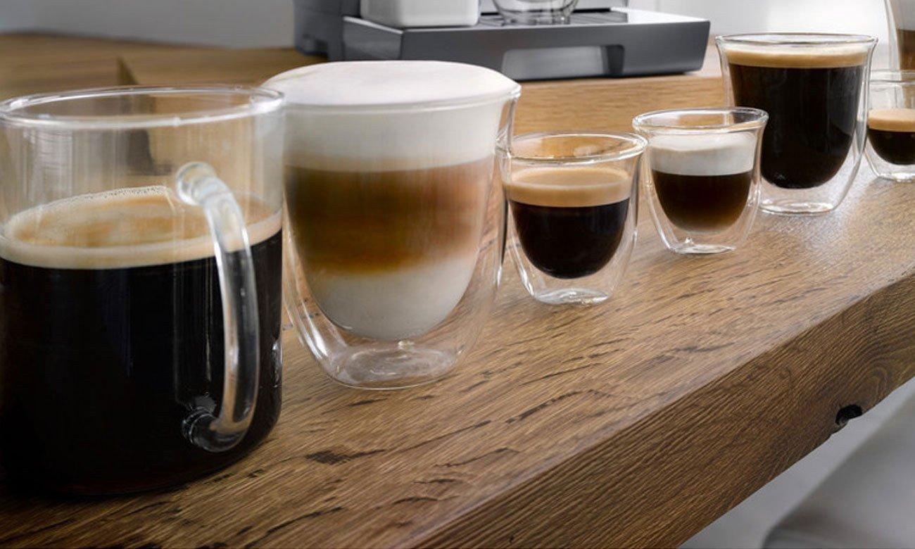 Ekspres Bosch CTL636EB6 z funkcją zapamiętywania ulubionych kaw