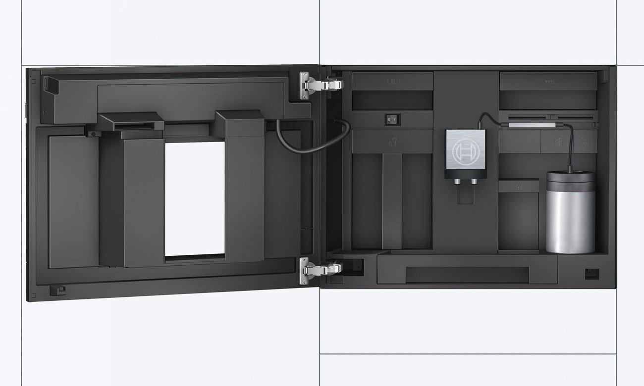łatwy w czyszczeniu ekspres Bosch CTL636EB6