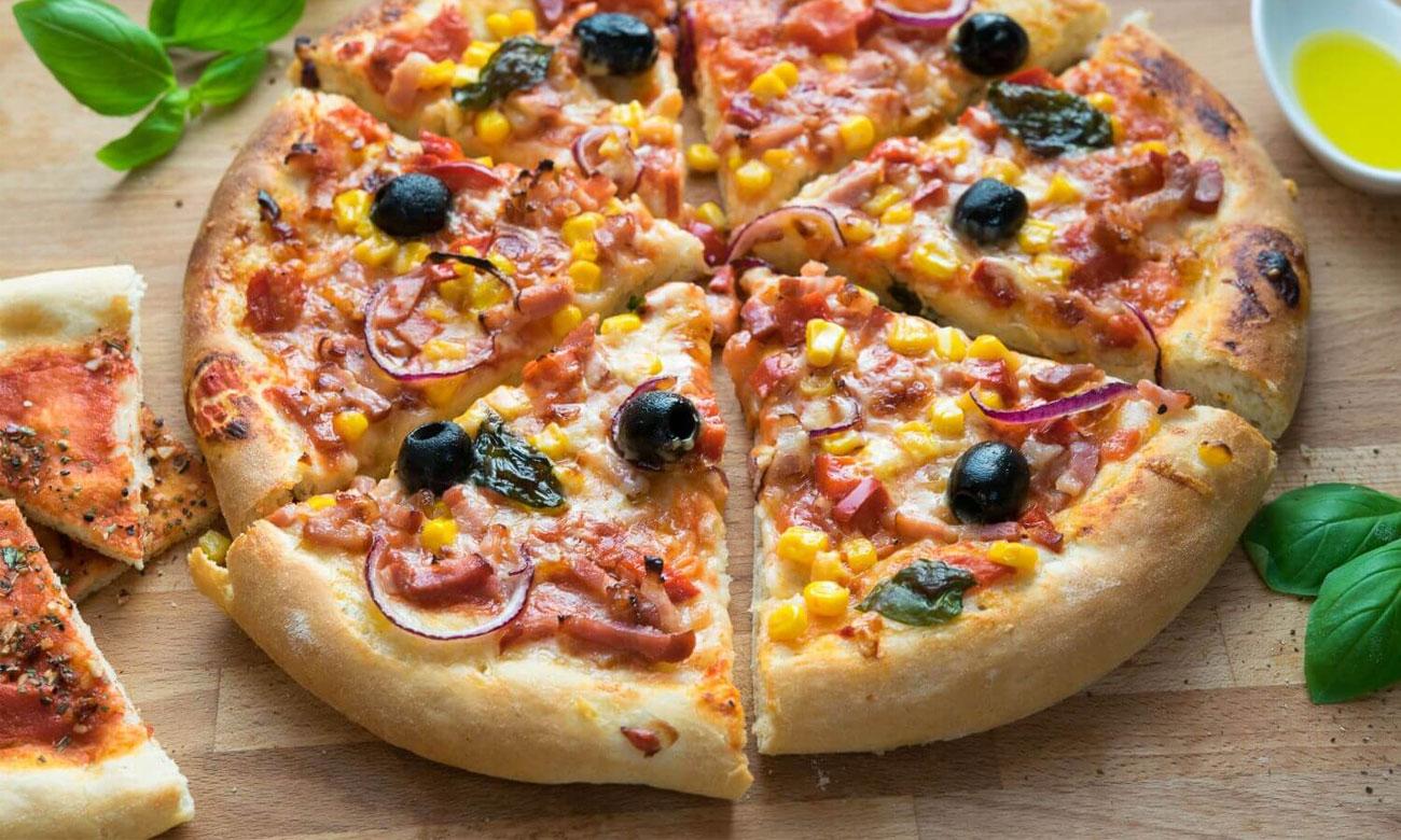 Funkcja Pizza w piekarniku Bosch HBA554YS0