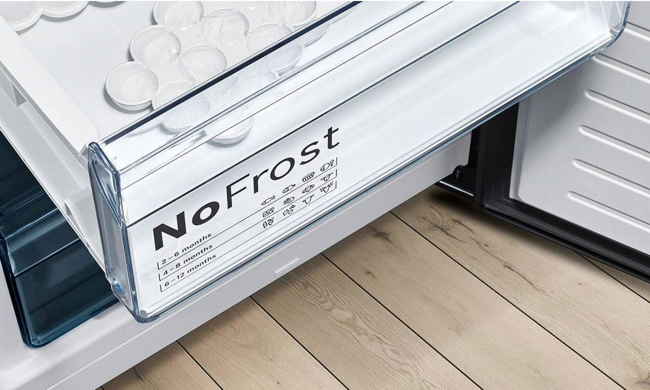 Bez rozmrażania, dzięki No Frost w lodówce Bosch KGN39ML3B