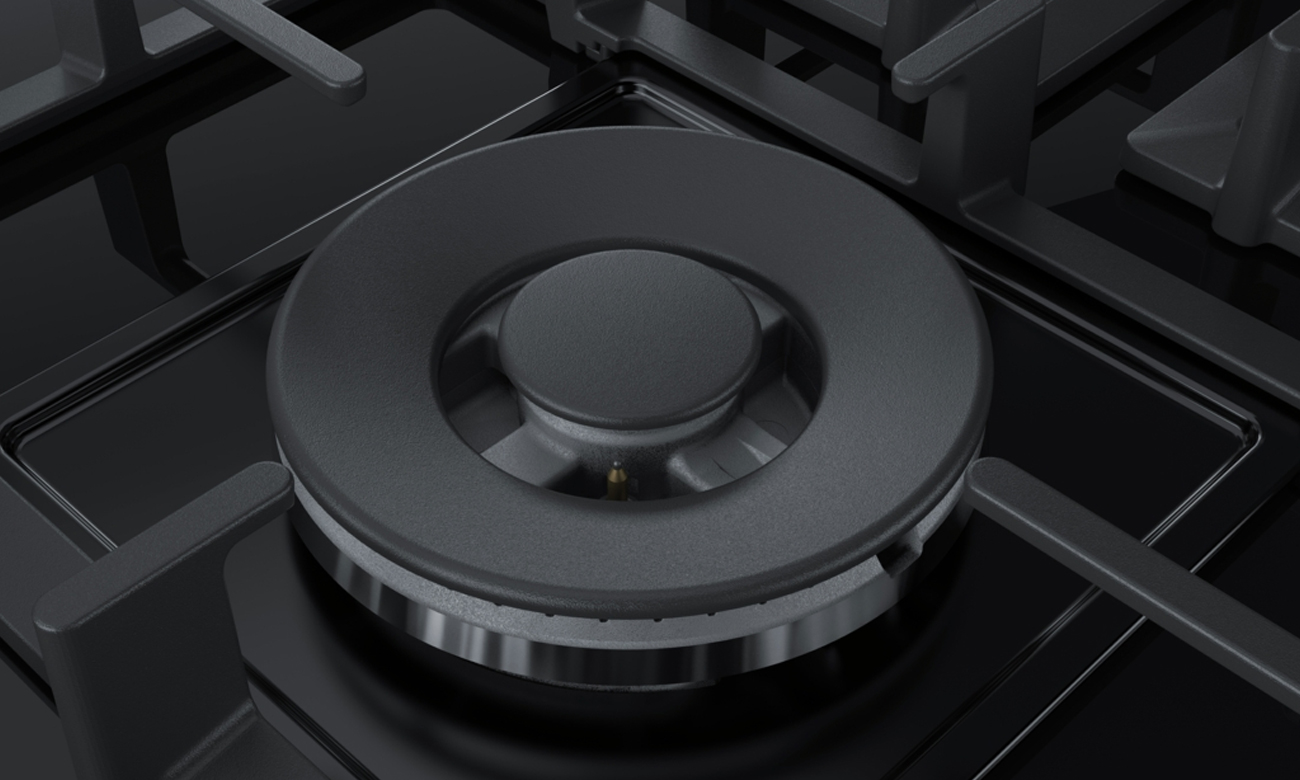 Palnik Wok w płycie Bosch PPS9A6B90