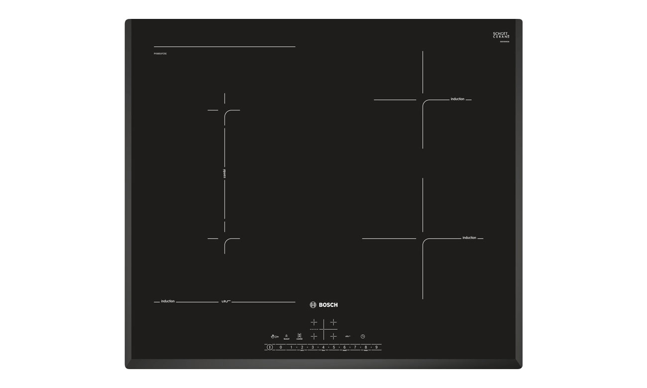 Płyta indukcyjna do zabudowy Bosch PVS651FC5E opinie