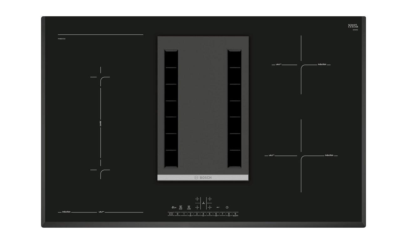Płyta indukcyjna do zabudowy ze zintegrowanym wyciągiem Bosch PVS851F21E opinie