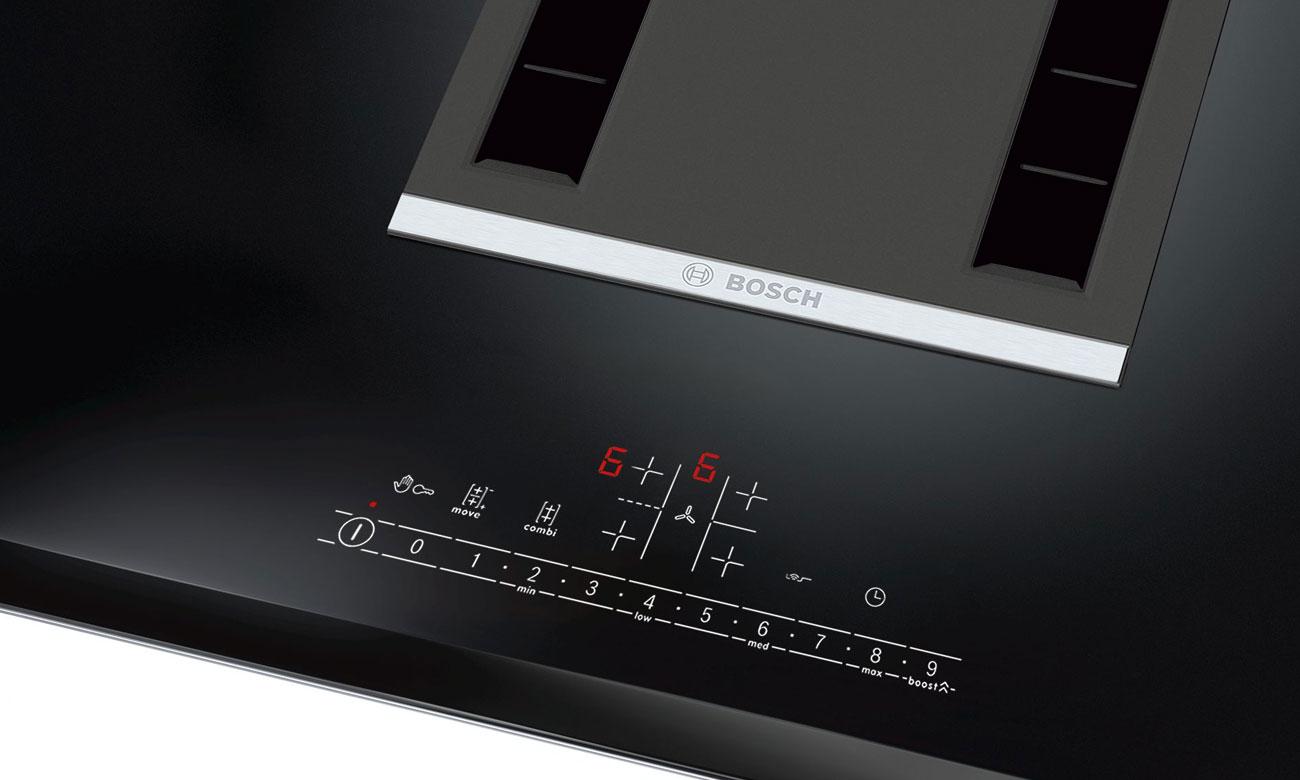 Intuicyjny panel sterowania w Bosch PVS851F21E
