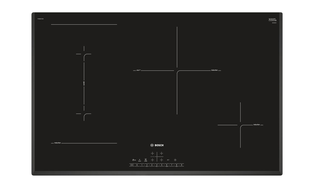 Płyta indukcyjna do zabudowy Bosch PVS851FB5E opinie