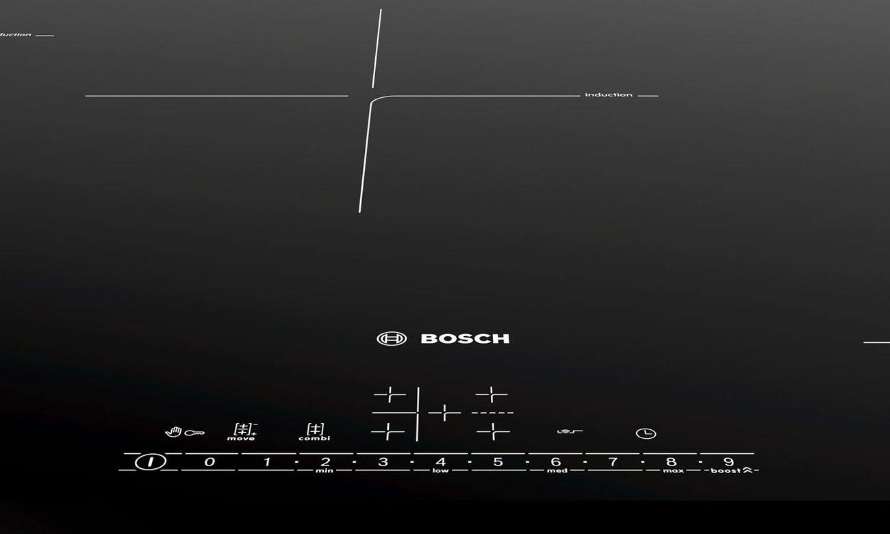 Intuicyjny panel sterowania w Bosch PVW851FB5E