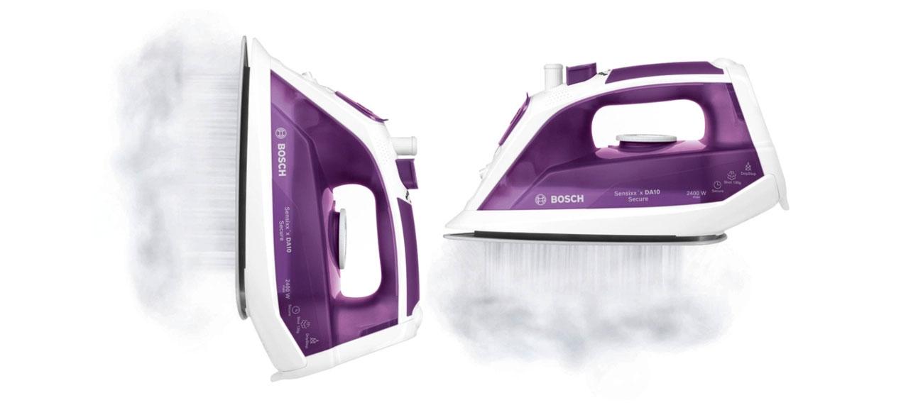 Żelazko Bosch Sensixx´x DA10 2400W biało-fioletowe parowe