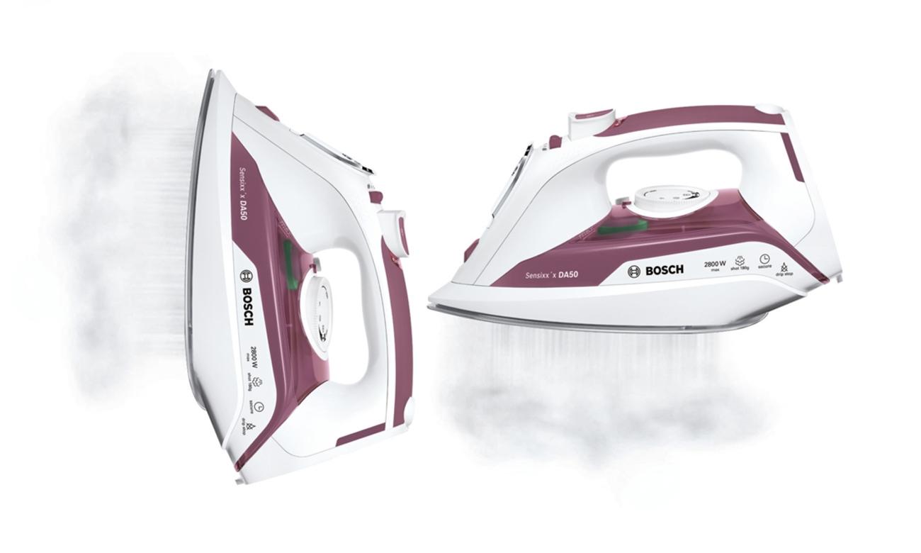 Silne uderzenie pary w żelazku Bosch TDA5028110