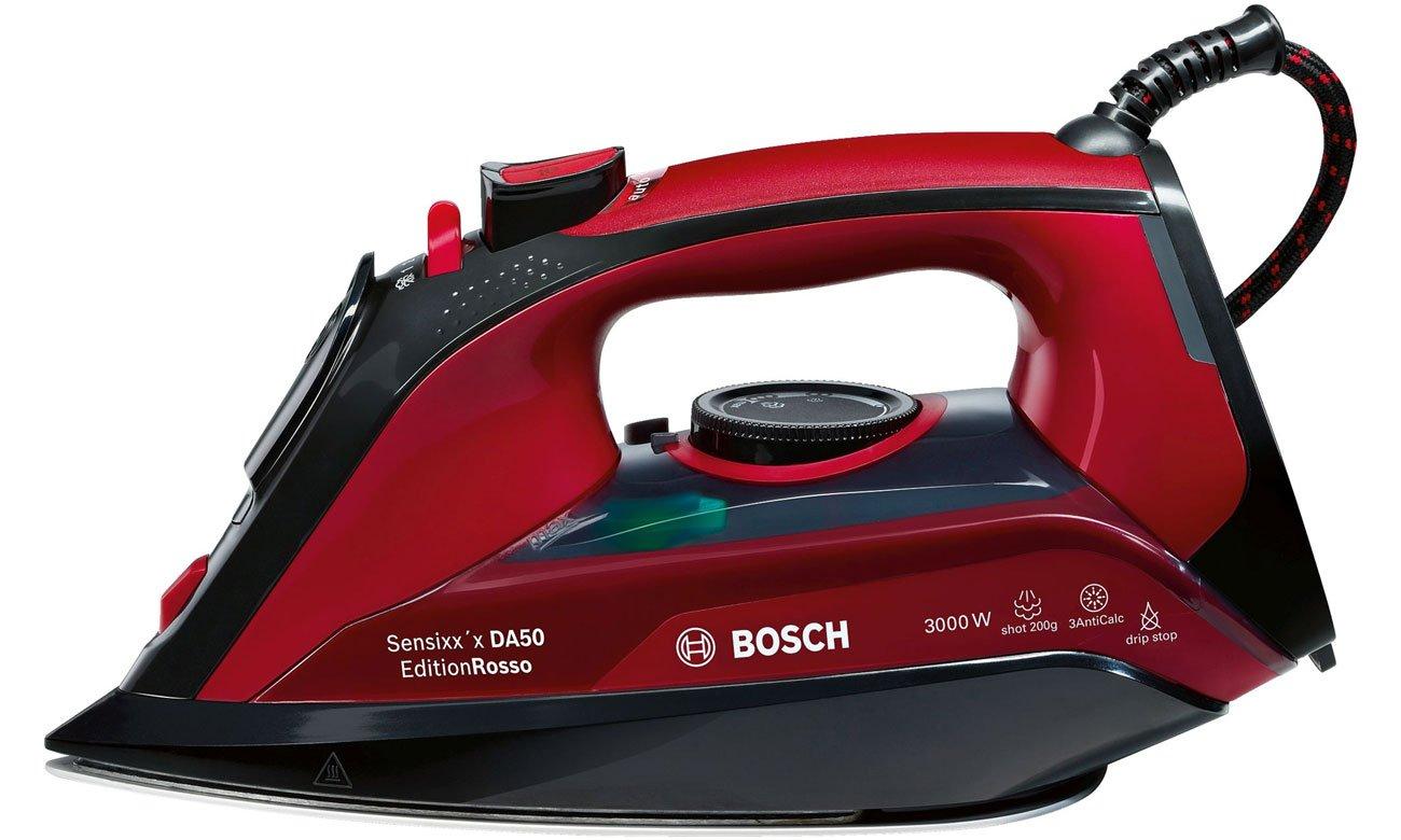 żelazko parowe Bosch Sensixx'x DA50 EditionRosso TDA503011P