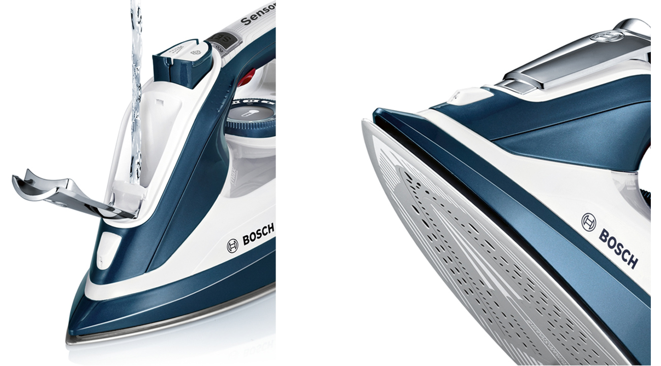 Żelazko Bosch TDI902836A DI90 AntiShine 2800W Sensixx´x stopa ceramiczna