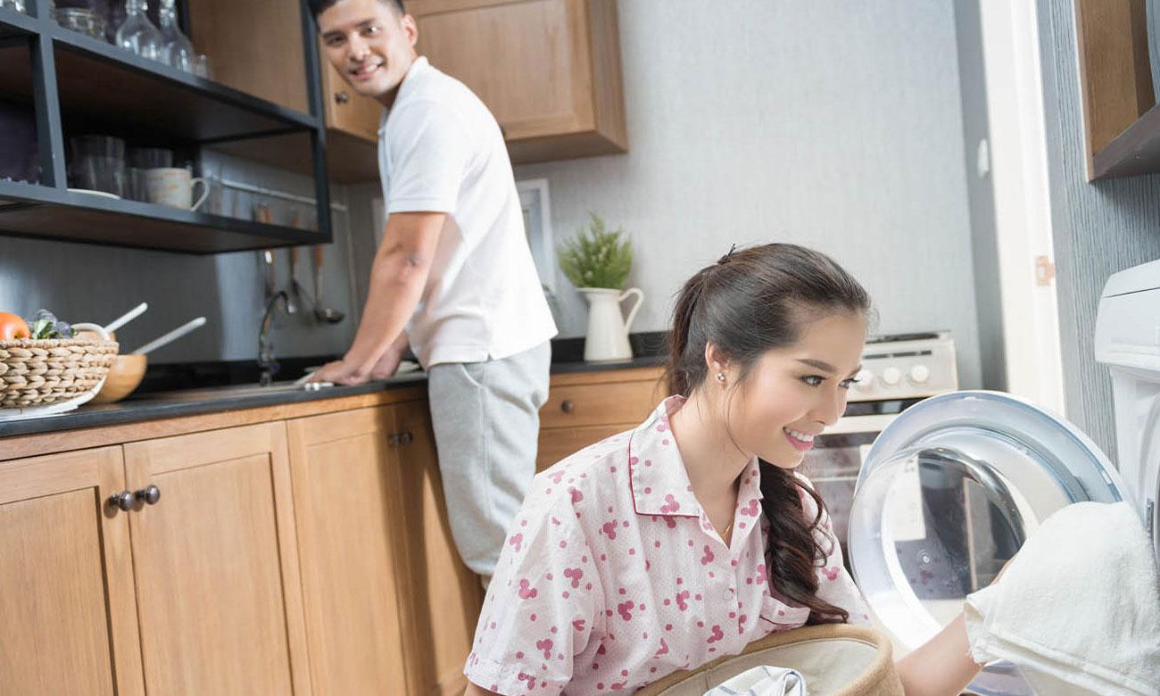 Możliwość dołożenia prania, dzięki funkcji Start/Pauza z opcją dołożenia prania w pralce Bosch WAY288H0PL