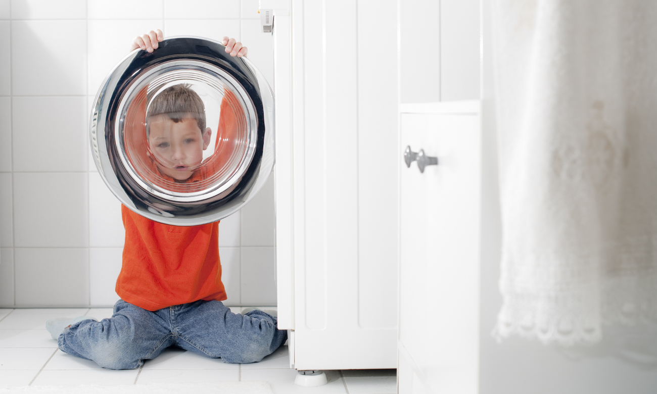 Zabezpieczenie przed dziećmi w Bosch WTY887W0PL