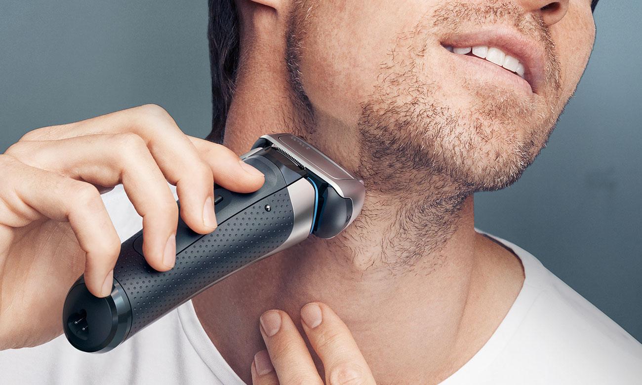 Golarka męska Braun 8385cc automatycznie dostosowuje się do brody