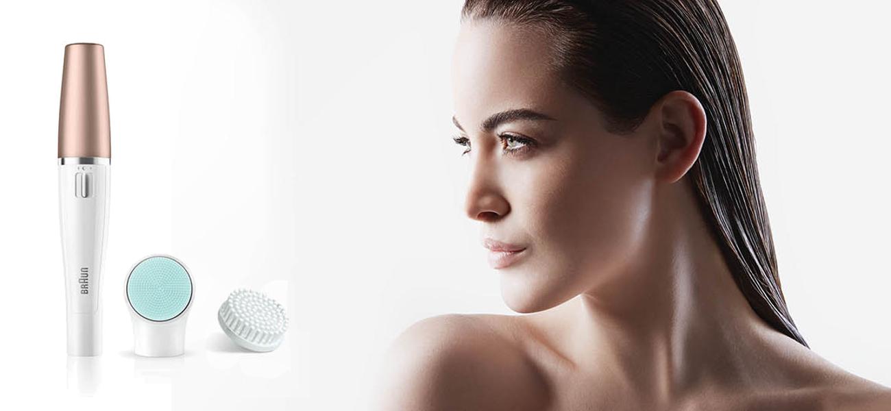 wodoodporny depilator Braun FaceSpa 851V