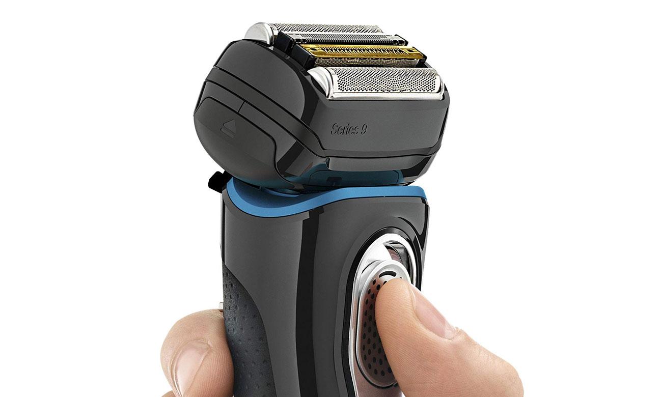 5 elementów tnących w Braun 9280cc zapewnia dokładne golenie