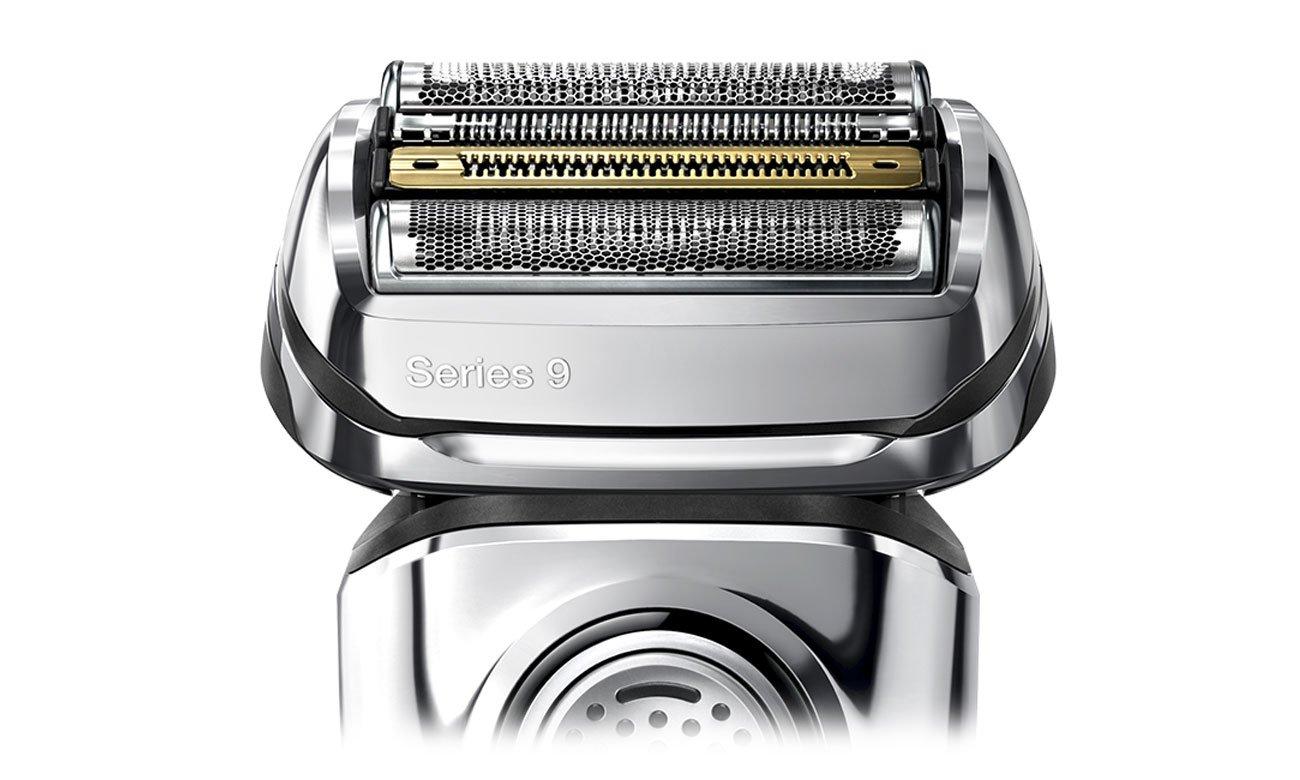 Golarka męska Braun 9390cc automatycznie dostosowuje się do brody