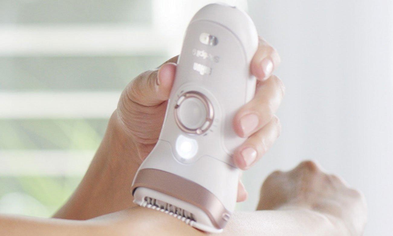 Depilator Braun Silk-épil 9 SensoSmart™ 9/700 z technologią wspomagająca proces depilacji