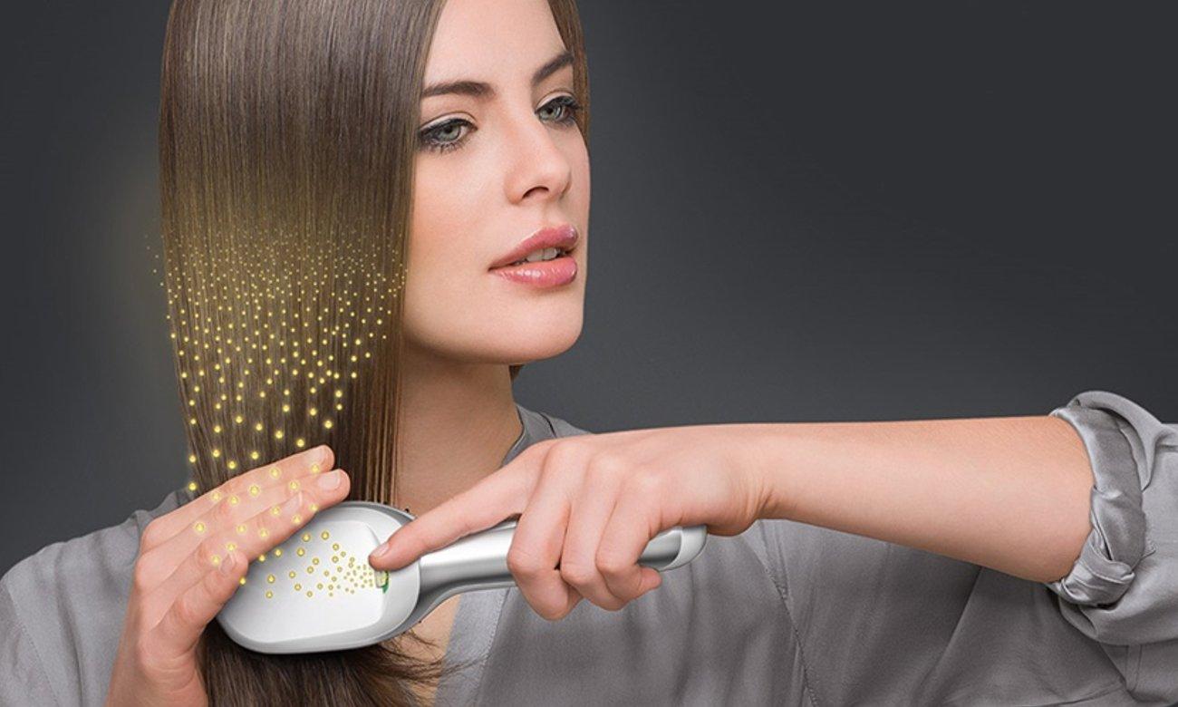 technologia IONTEC w Braun Satin-Hair 7 Brush BR 750