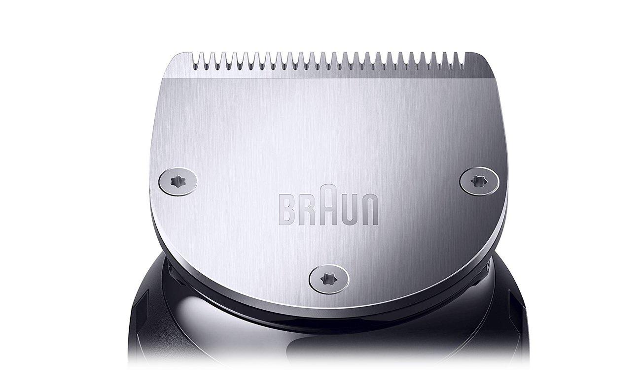 Trymer Braun BT7240 działa bezprzewodowo i ma wytrzymałe ostrza
