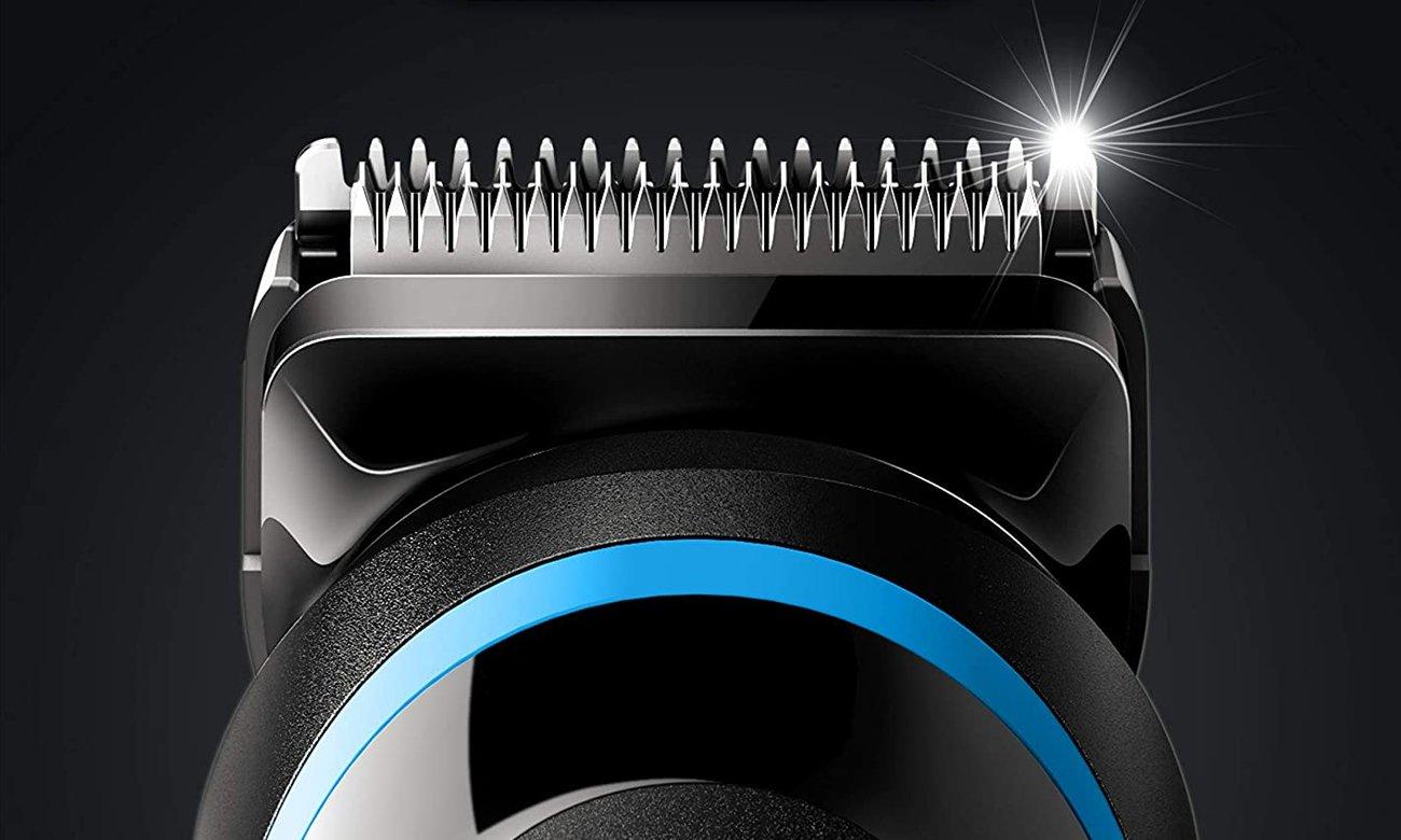 Trymer Braun MGK5280 działą bezprzewodowo i ma wytrzymałe ostrza