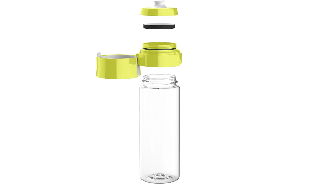 Butelka filtrująca Brita limonkowa
