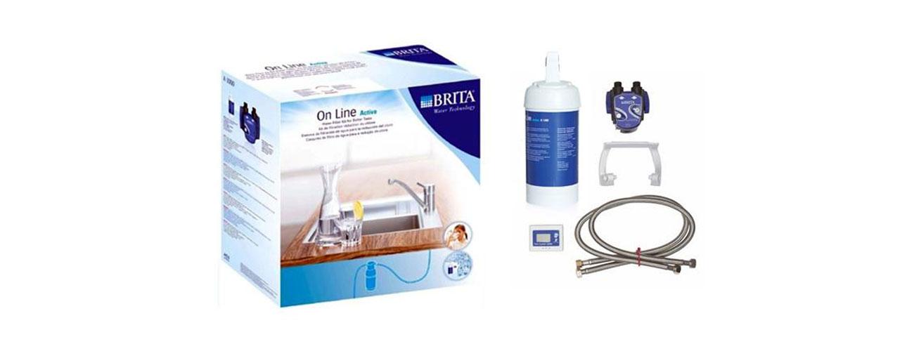Filtracja wody Brita On Line Active Zestaw 4006387029739